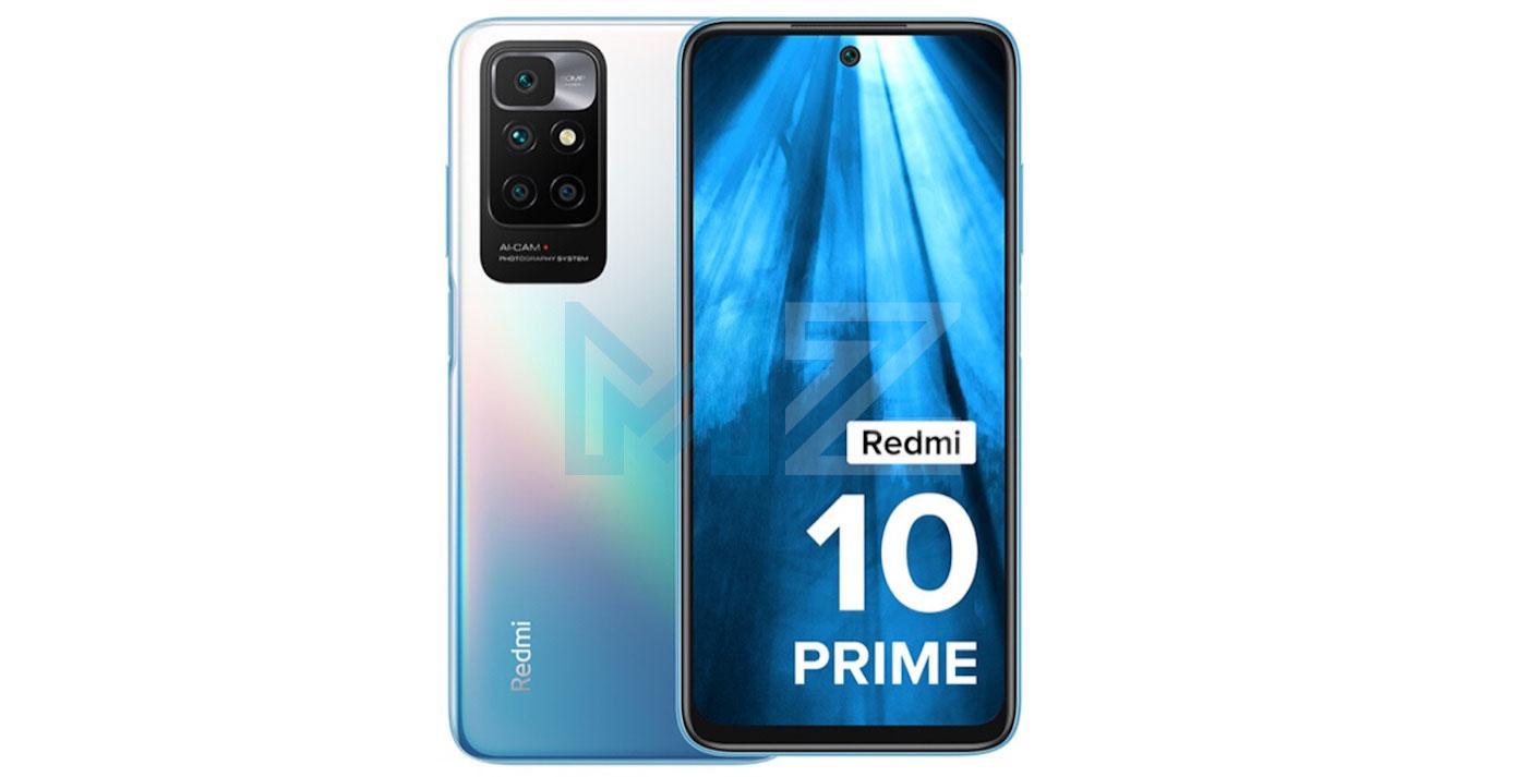 Redmi 10 Prime diseño