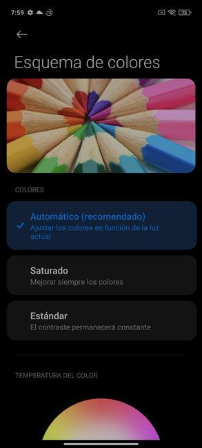 Цветовые характеристики Redmi Note 10 5G