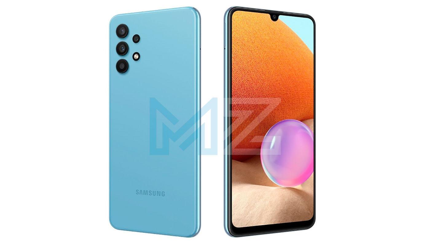 Samsung Galaxy M32 5G diseño