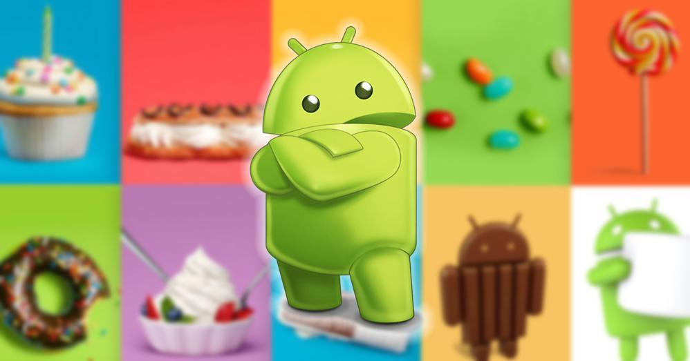 Nombres de postre Android