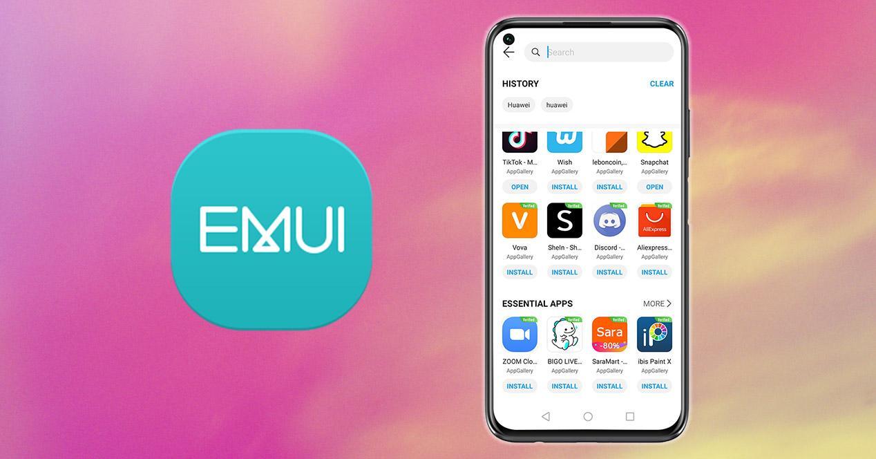 Apps Huawei EMUI