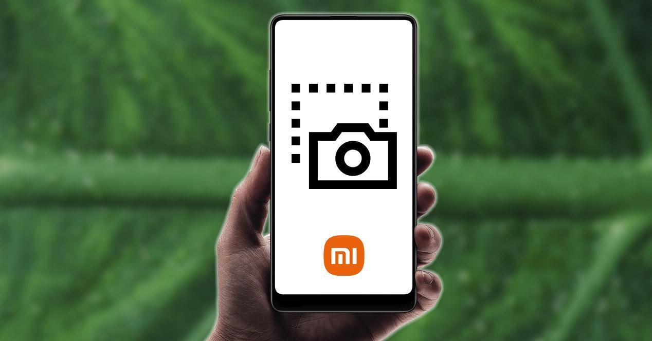 Captura específica pantalla móviles Xiaomi