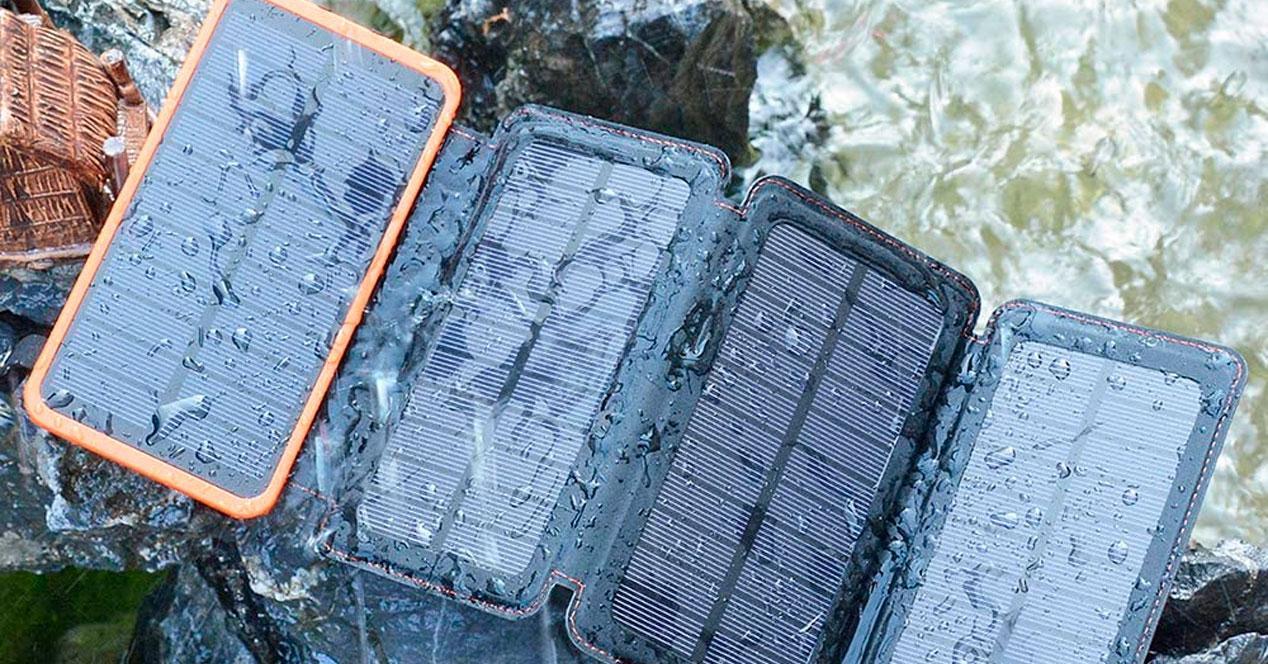 cargador солнечный аккумулятор