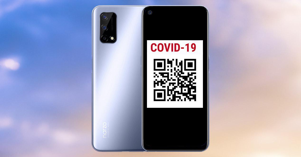Certificado Covid en el móvil