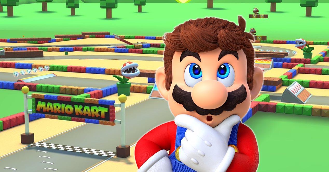 Mario Bros pensando