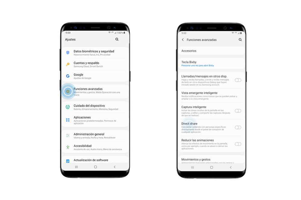 Сравнение данных Samsung