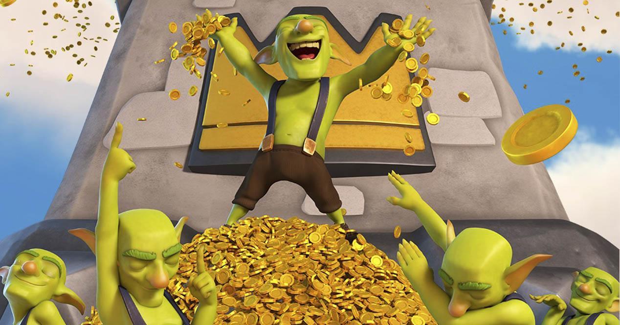 Conseguir oro gratis Clash Royale