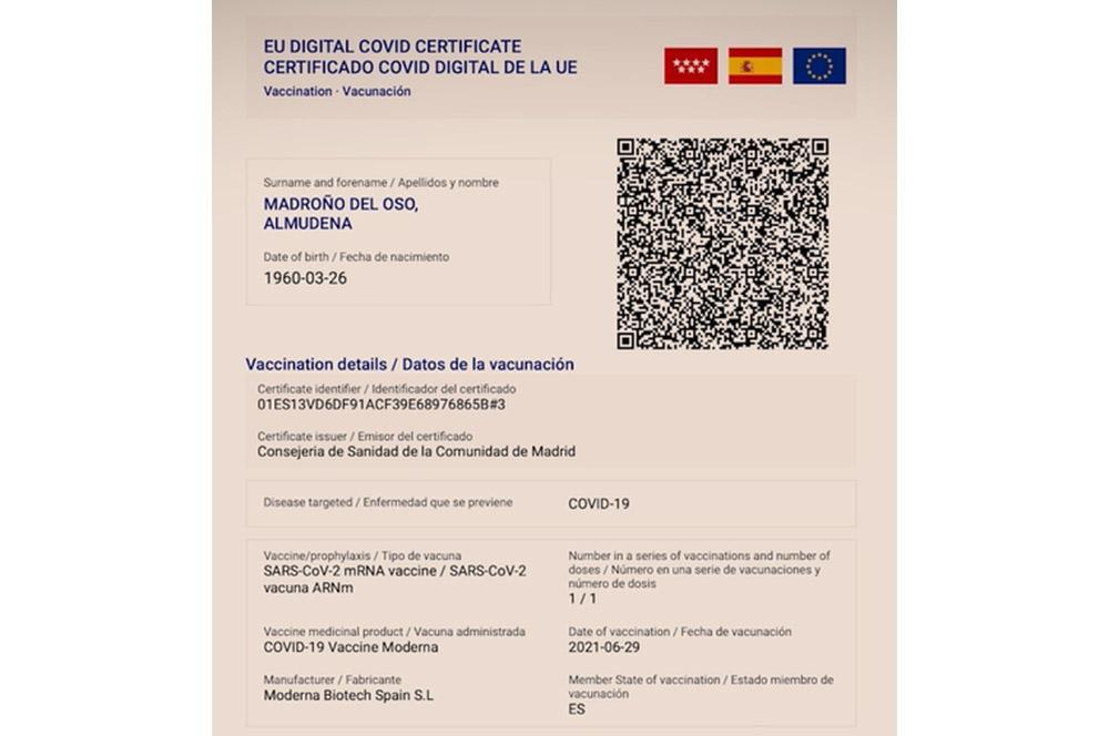 Certificado Covid Móvil