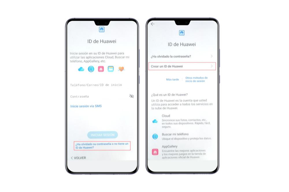 ID-uri mobile Huawei