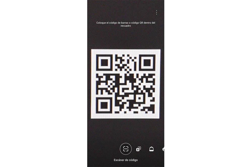 Escáner QR Huawei