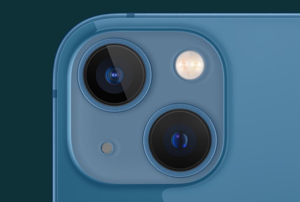 iPhone 13 mini cámaras