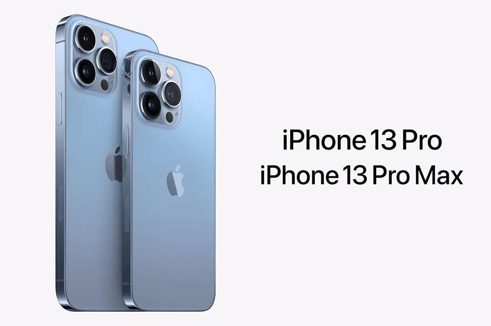 iPhone 13 Pro y iPhone 13 Pro Max