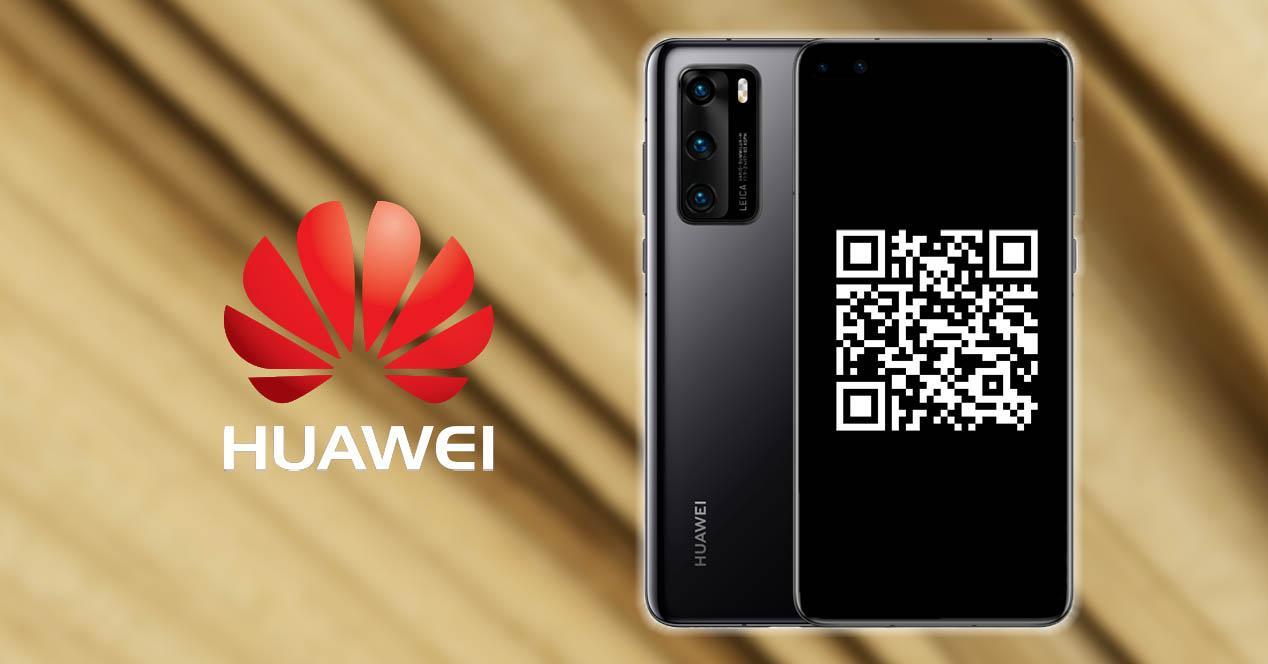 Lector código QR Huawei