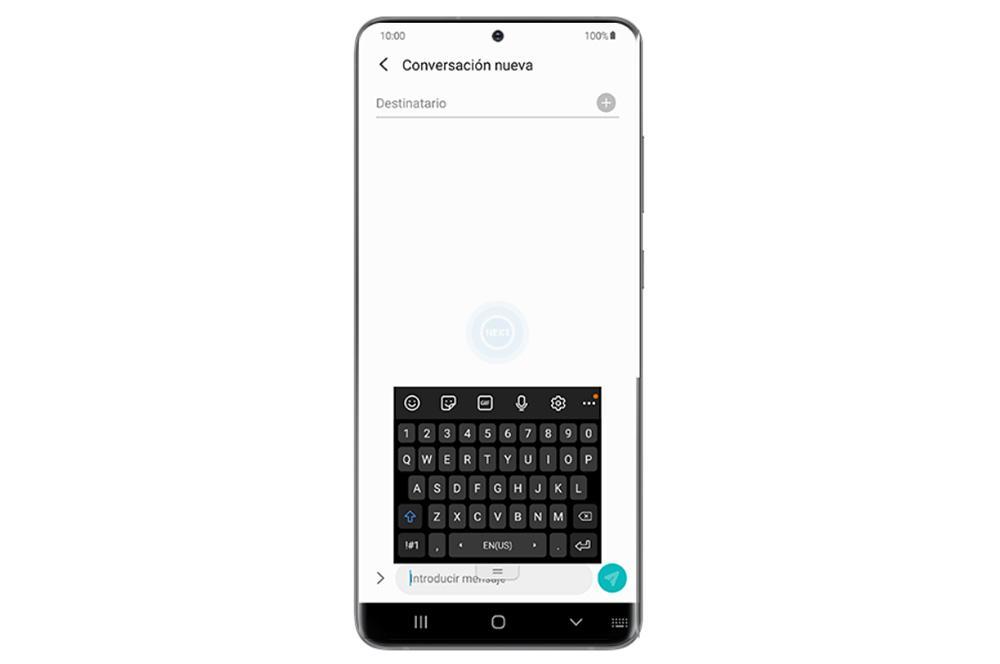 Modos teclado Samsung