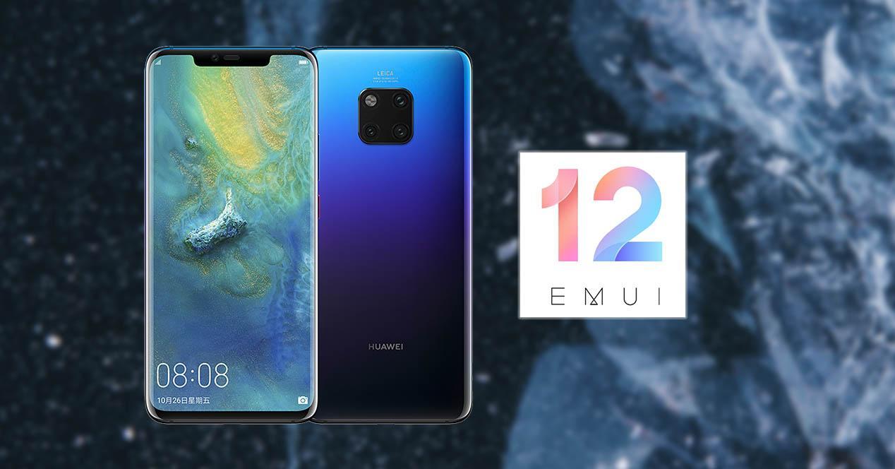 Móviles Huawei sin EMUI 12