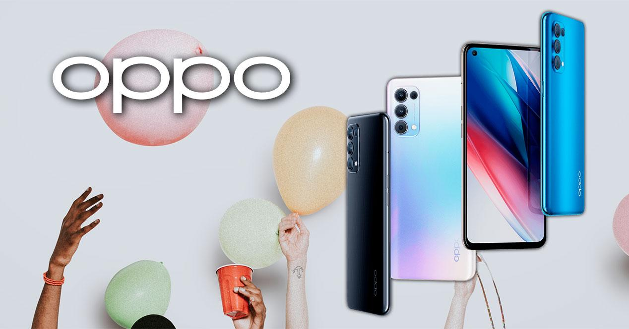 moviles oppo