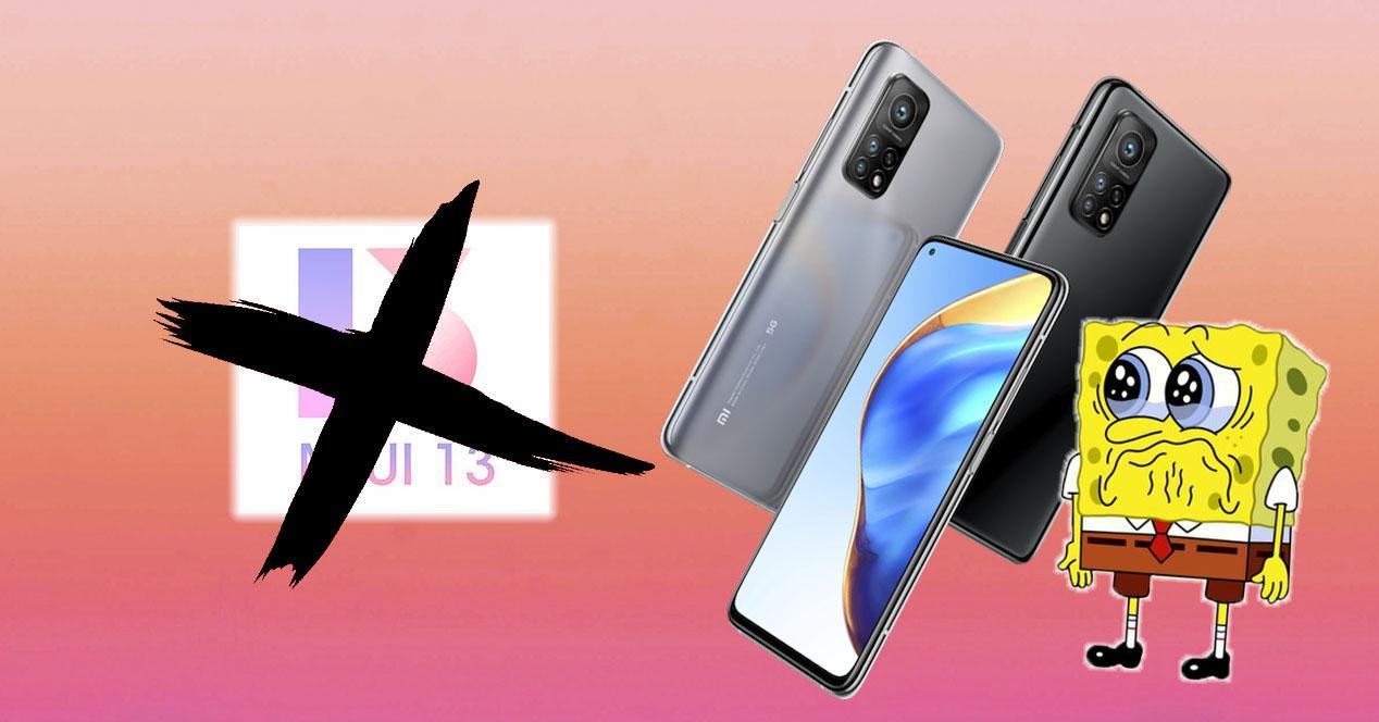 Móviles Xiaomi sin MIUI 13