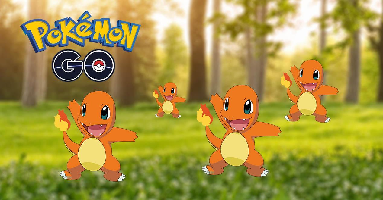 Los Pokémon en nidos Pokémon GO