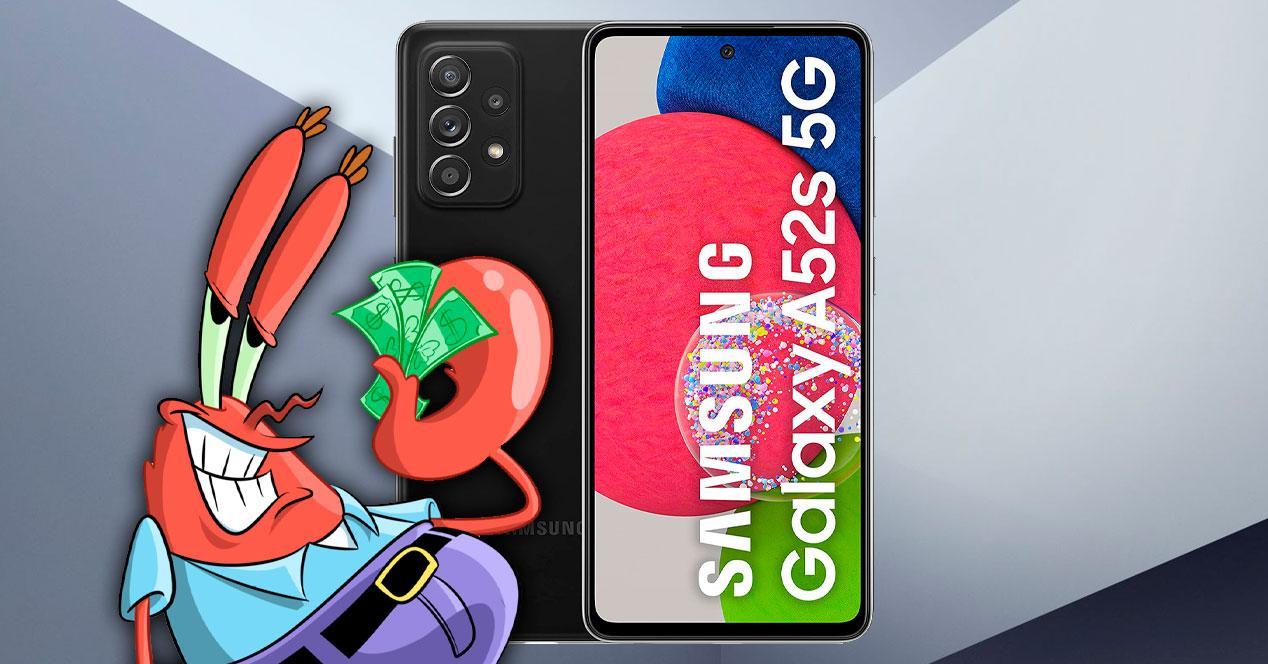 oferta comprar samsung galaxy a52s