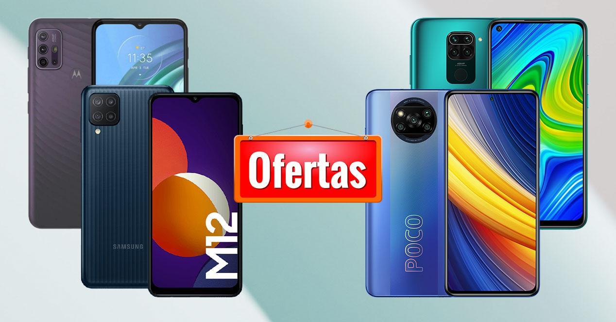 Oferta móviles Amazon