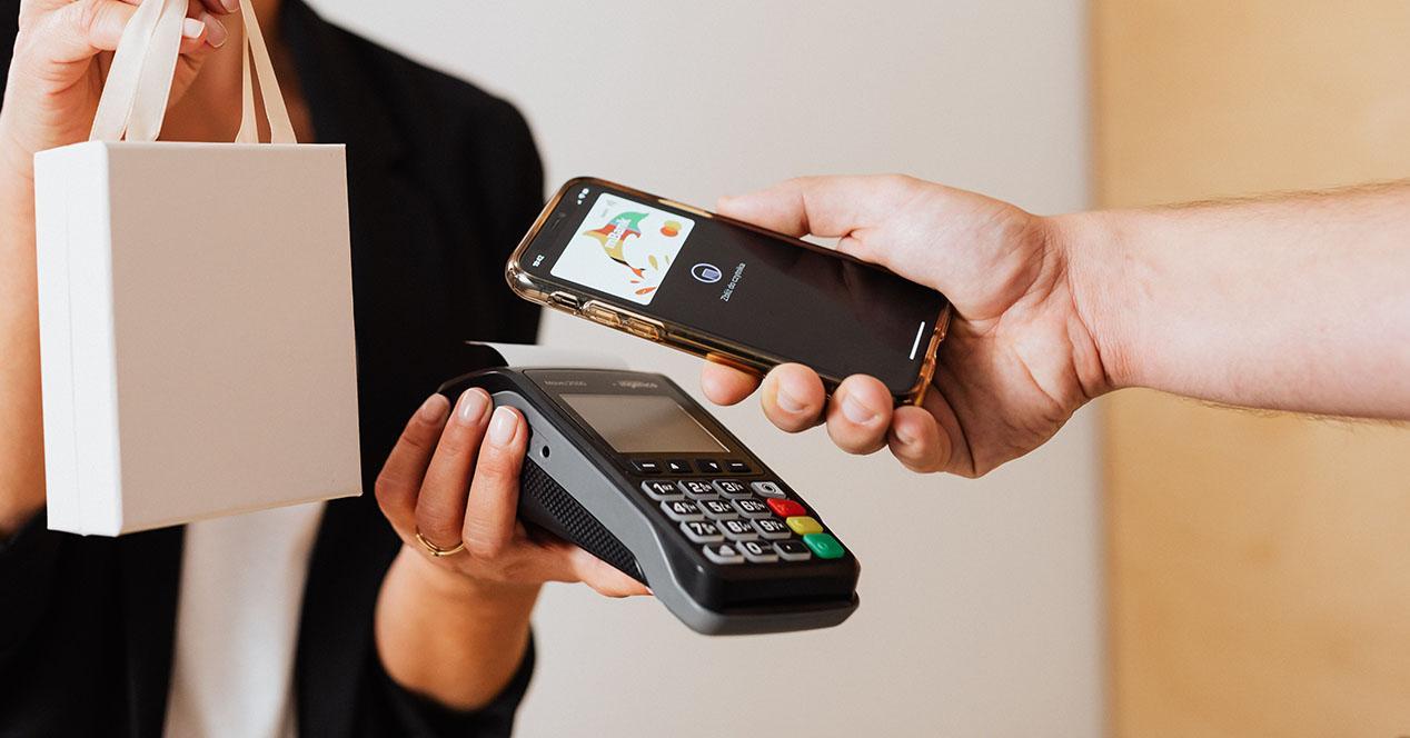Pago móvil NFC