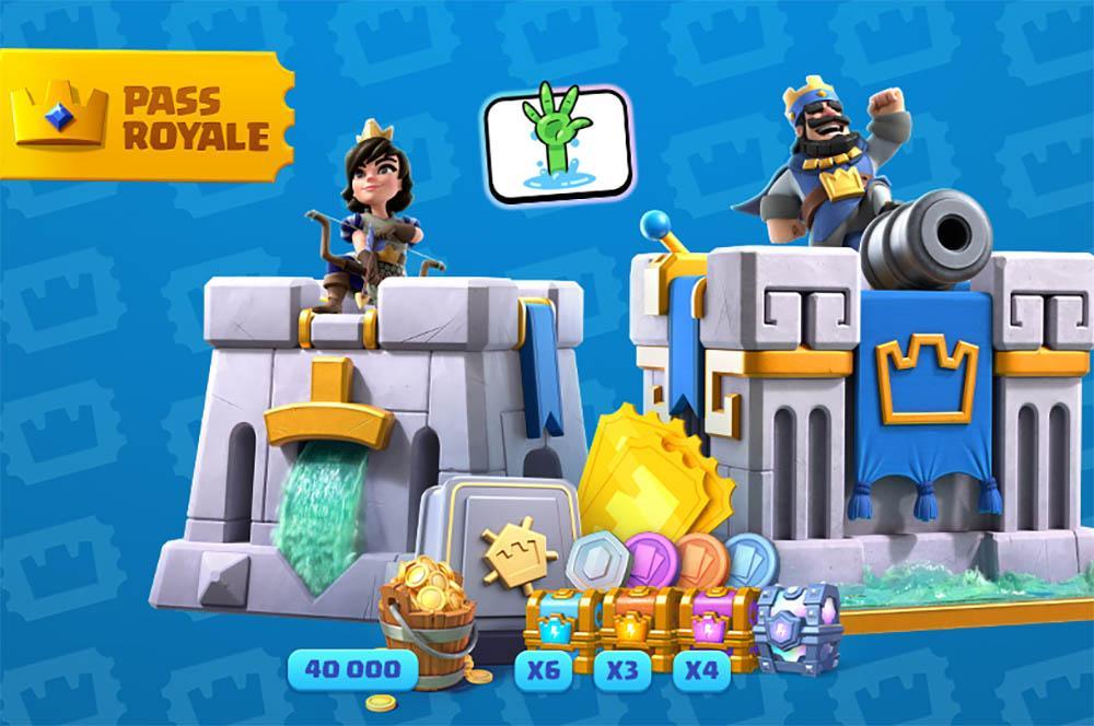 Pass Royale och Clash Royale