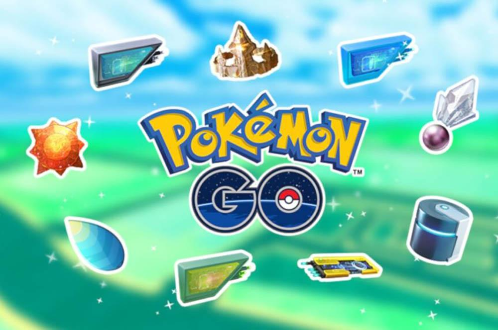 Pokémon GO -objekteja