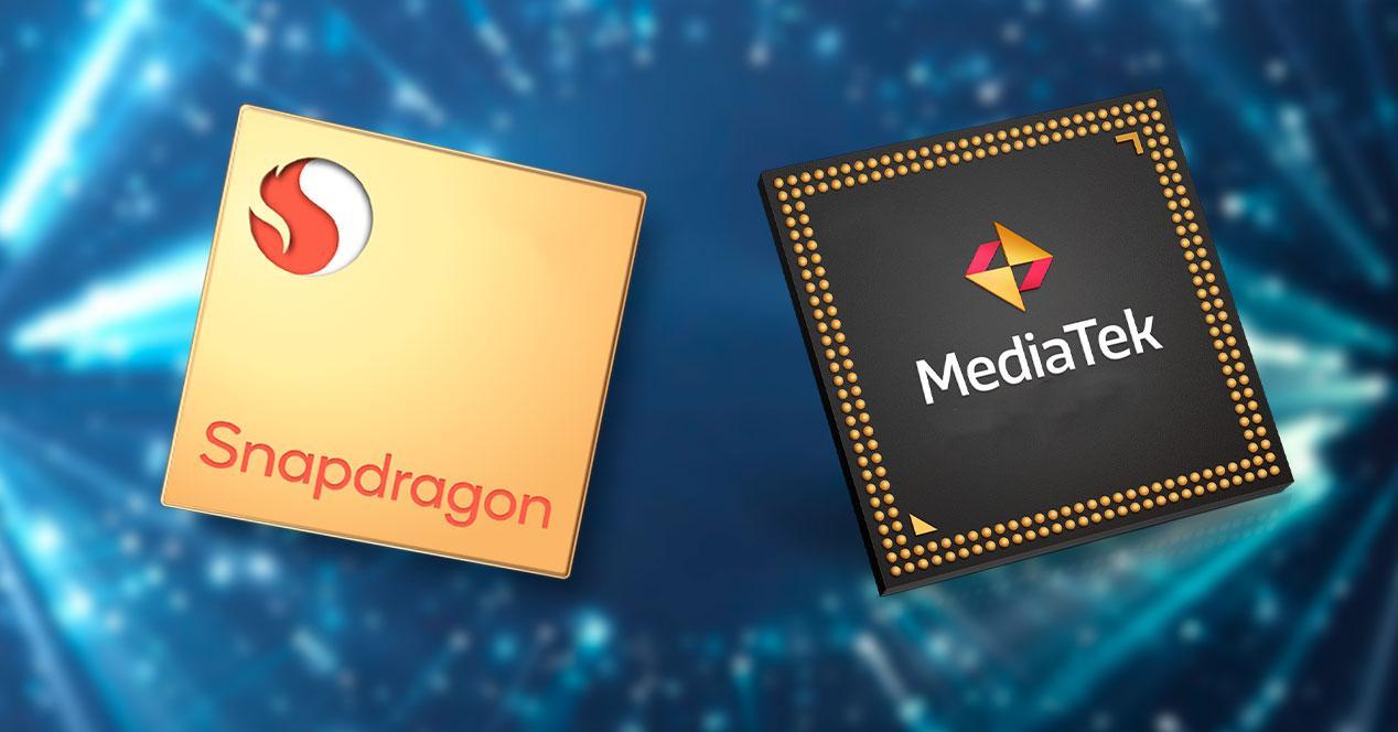 procesadores snapdragon mediatek