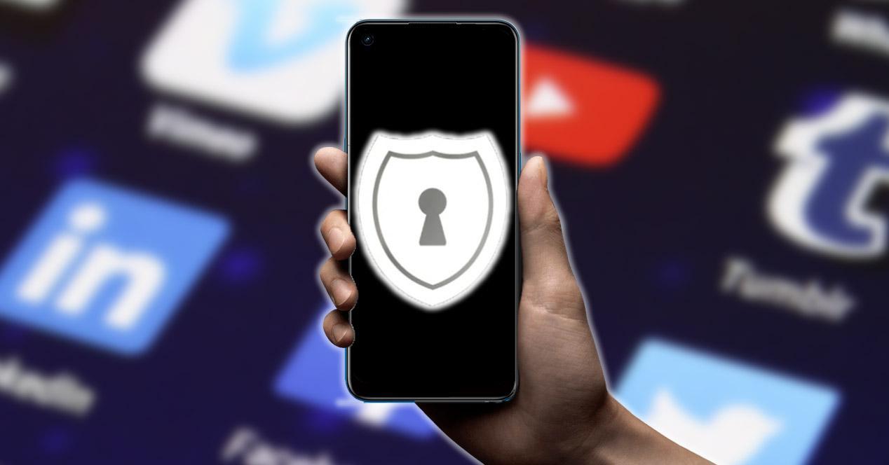 Proteger información móvil
