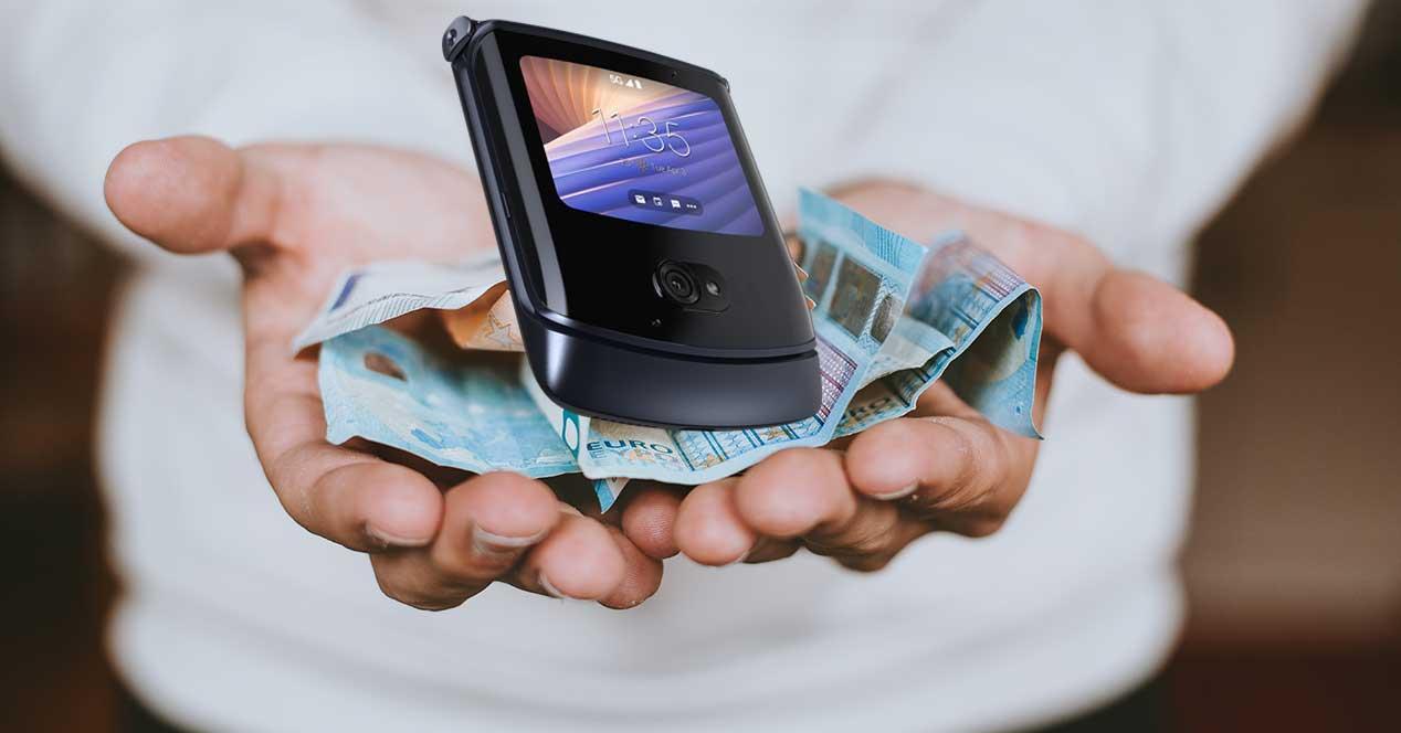 móviles plegables baratos