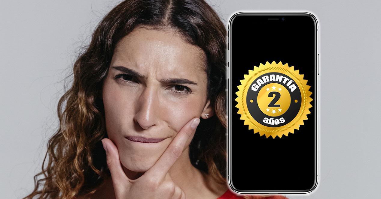 Reclamar garantía móvil