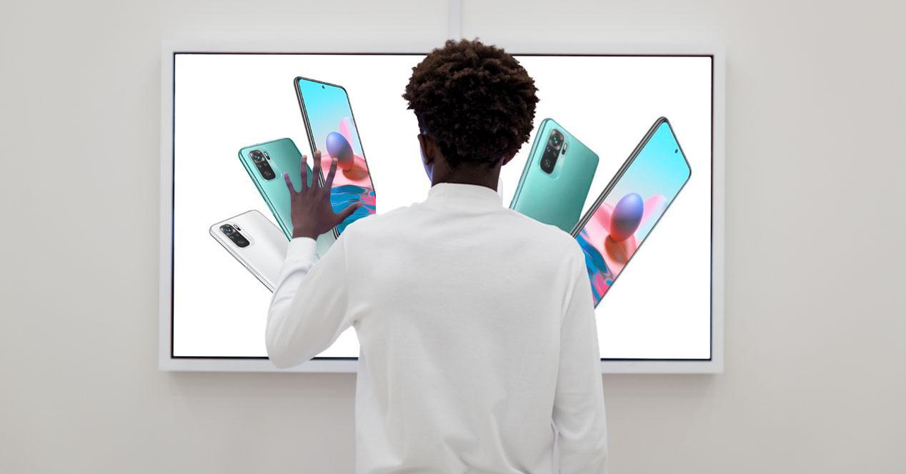 redmi note 10 pantalla mano