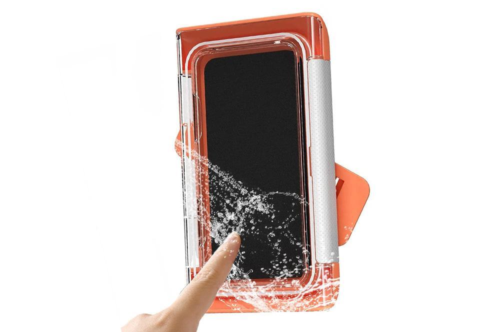 Soporte de móvil para usarlo en la ducha