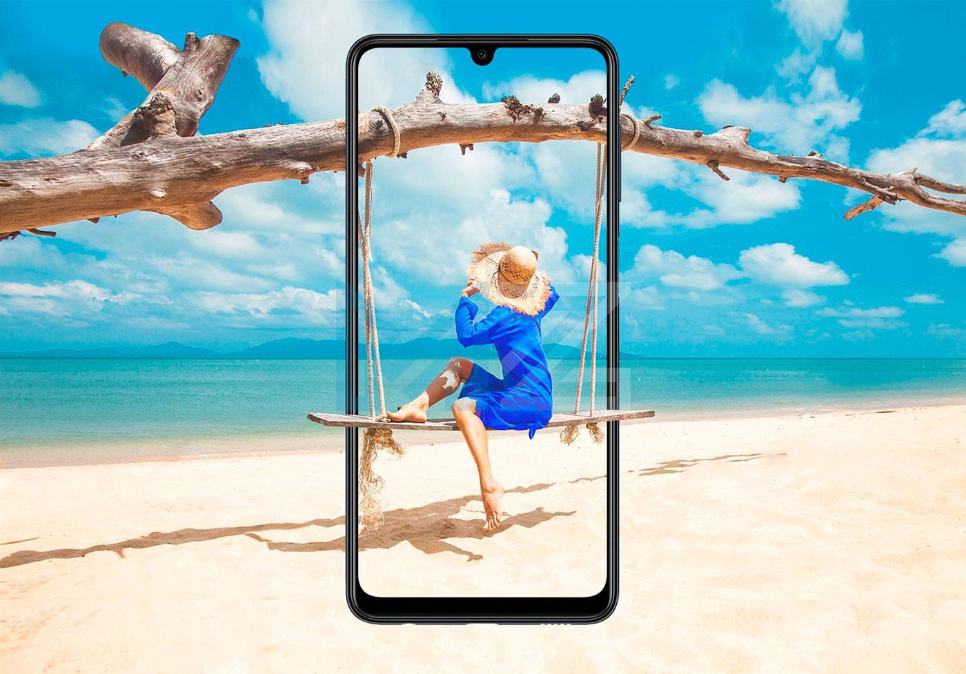 Samsung Galaxy M22 pantalla