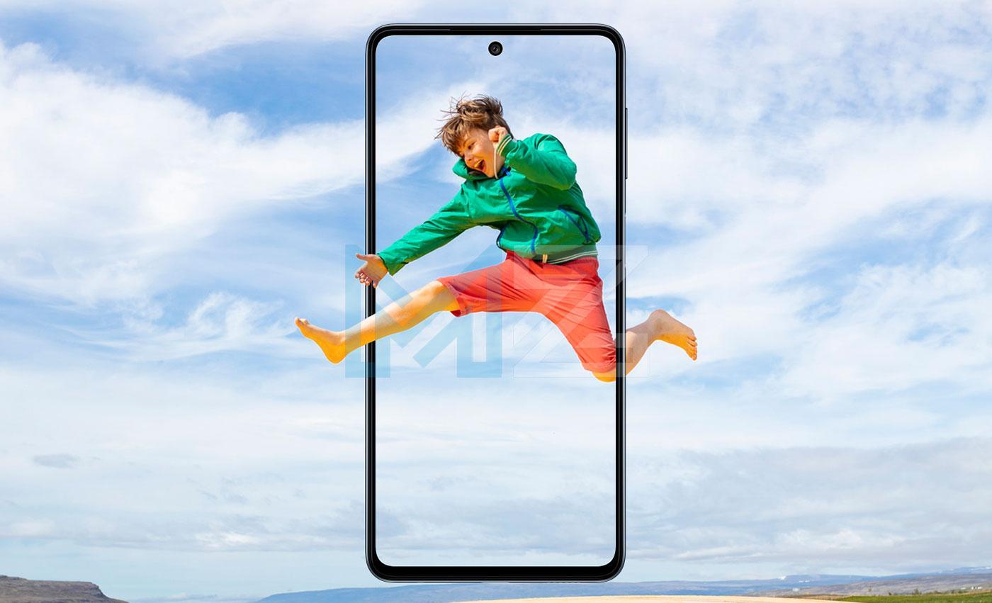 Samsung Galaxy M52 pantalla
