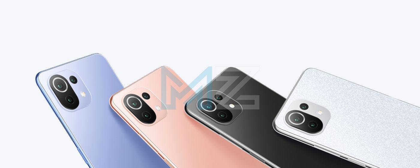 Xiaomi 11 Lite 5G NE colores