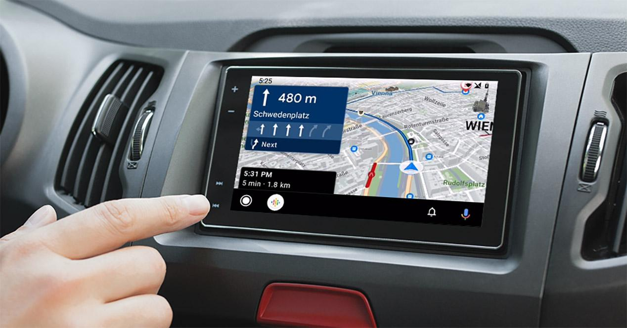 Apps GPS Android Auto