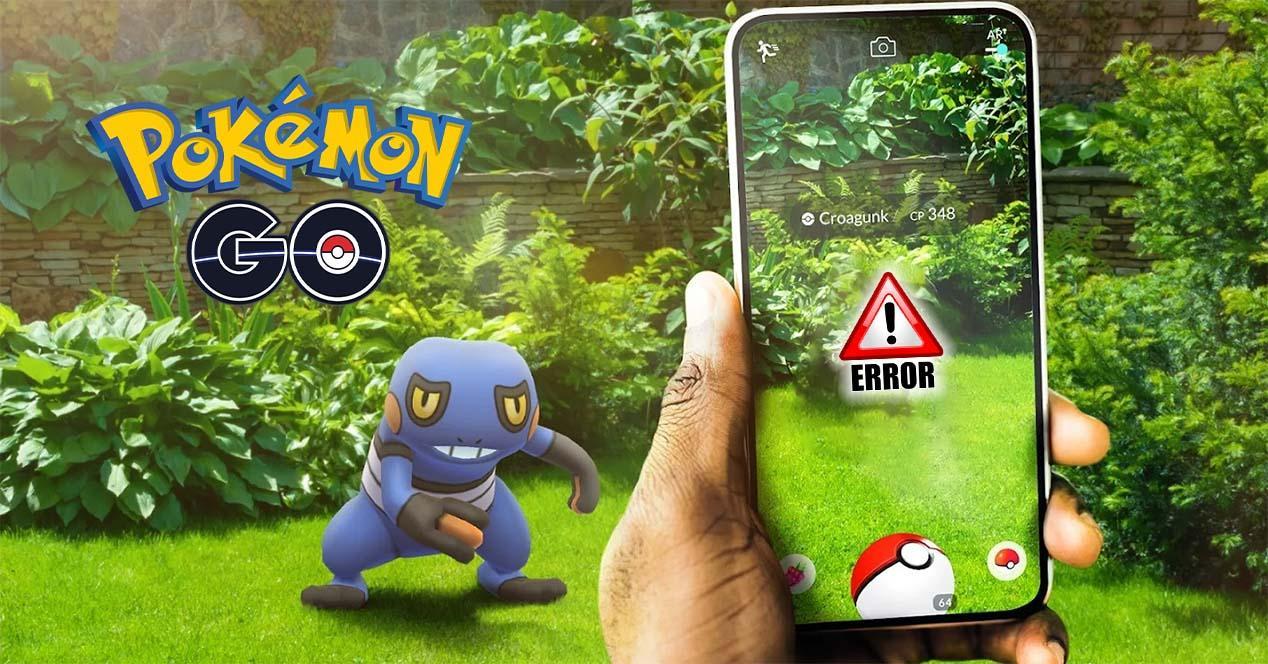 Errores Pokémon GO