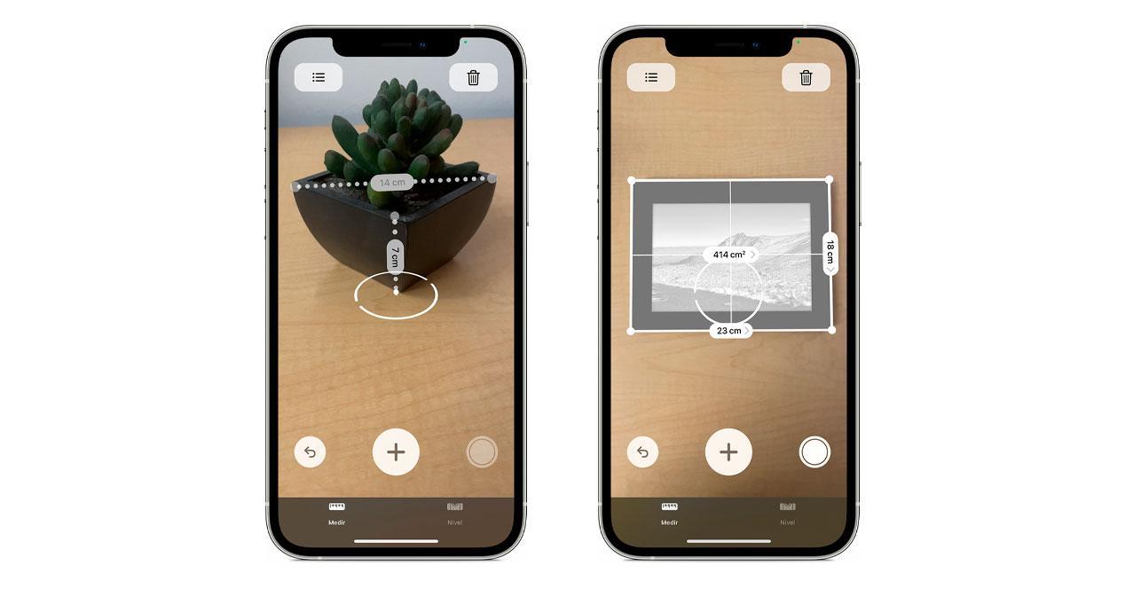 medir objetos iphone