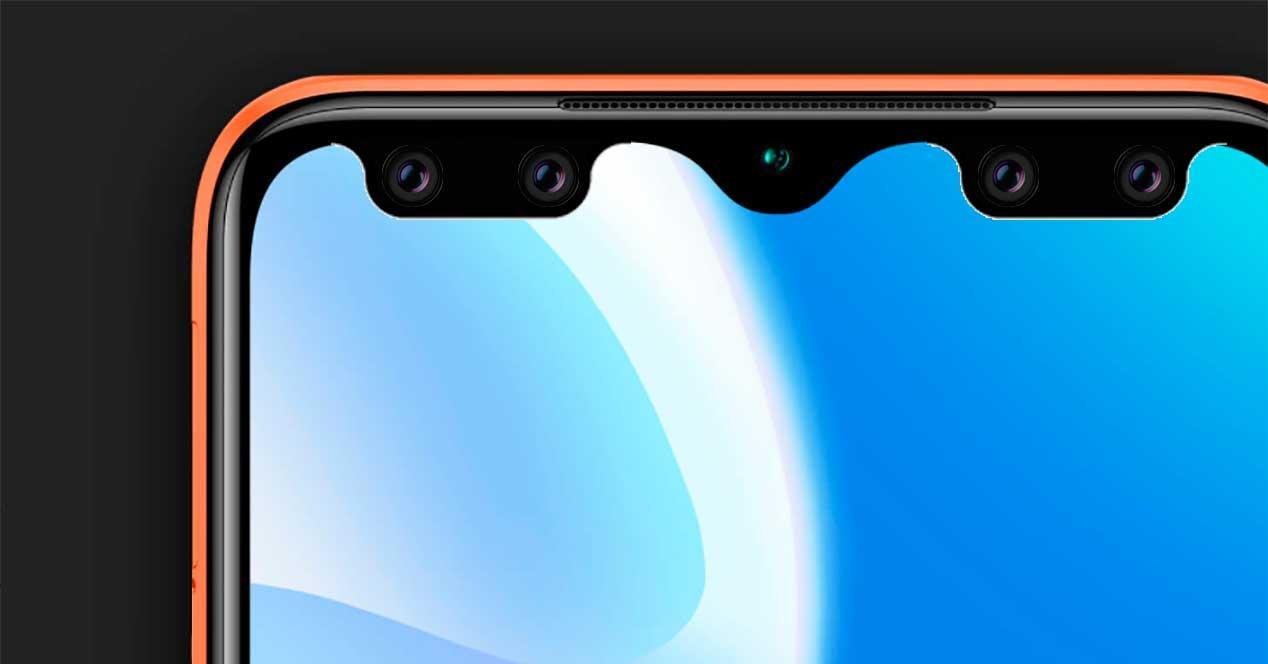 notch pantalla móvil