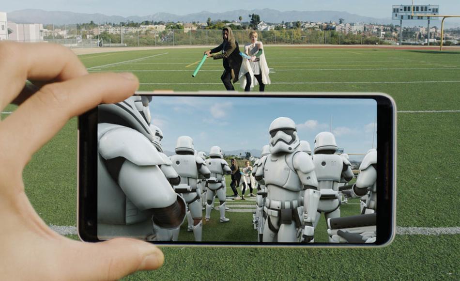 Realidad aumentada Google Pixel