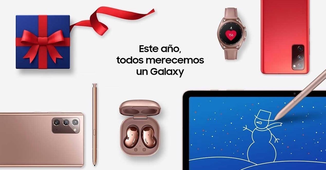 navidad Samsung