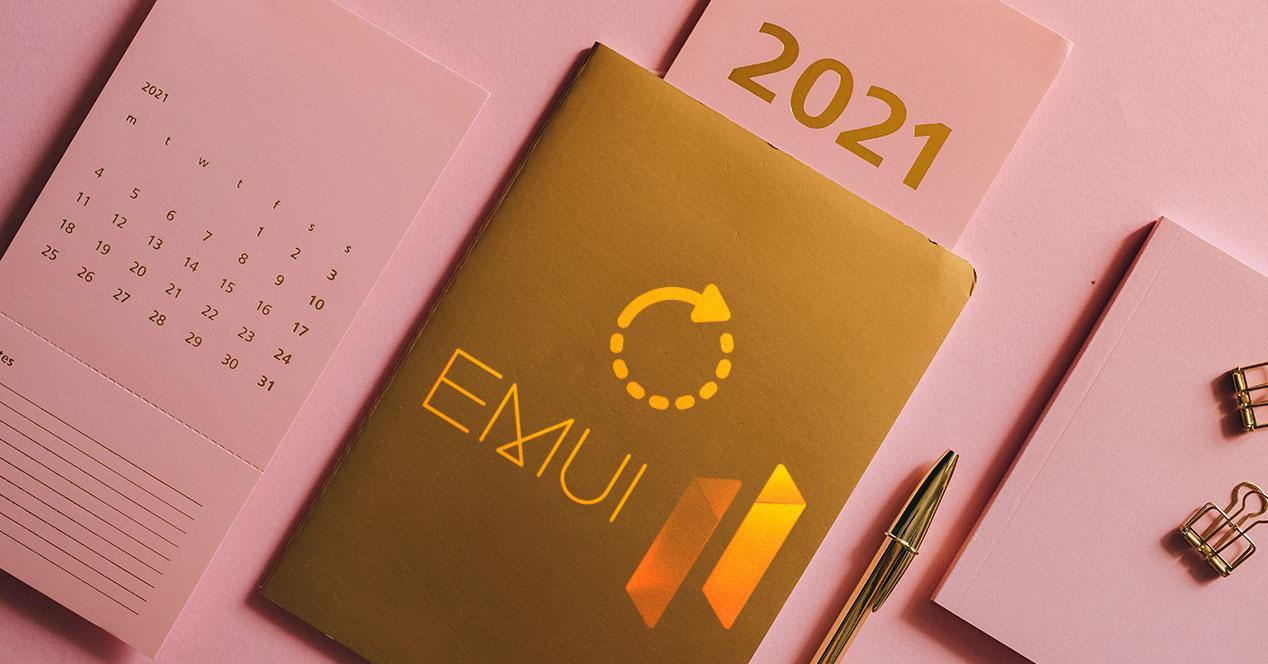 actualización emui 11 2021 huawei